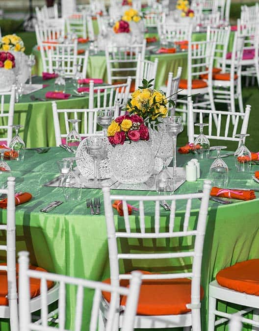 naperville tables and chairs rentals illlinois