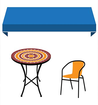 tables and chairs rental naperville, il